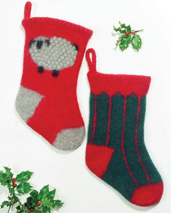 FT204 Felt Christmas Stockings picture