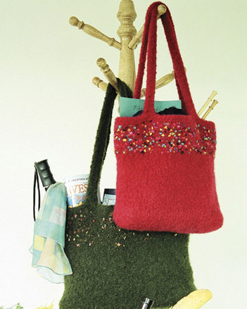 AC43 Fabulous Felt Totes - in 3 sizes picture