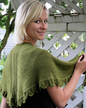 AC90e  Lace Panel Shawl & Scarf _PDF picture
