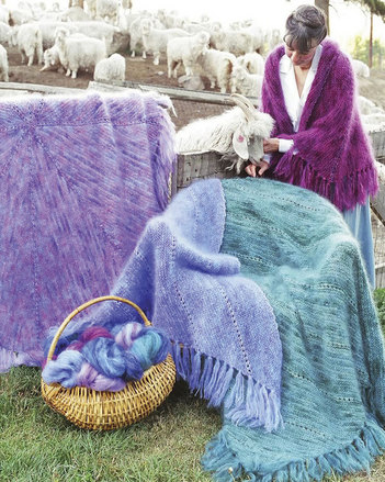 AC21 Marvelous Mohair Shawls & Afghans picture