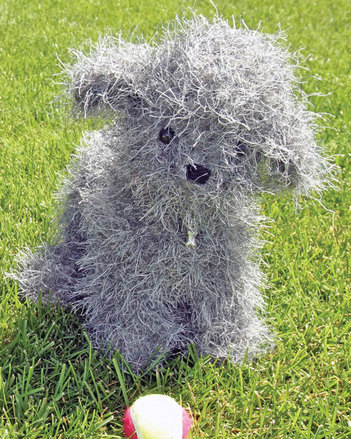 FT225e Felted  Fido by Evelyn A. Clark -PDF picture