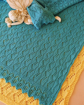 CH41 Estonian Lullaby Baby Blanket picture