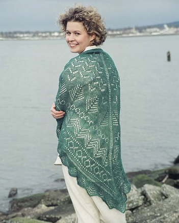 S2000e The Pacific Northwest Shawl - PDF picture