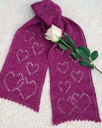 AC40e Falling In Love Scarf - PDF picture