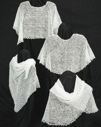 AC31e Crocheted Cobweb Caplets & Shawls - PDF picture
