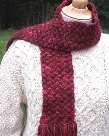 P028 - Kettle-Dyed Neck Scarf picture