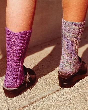 AC35e Walking Away Socks - PDF picture
