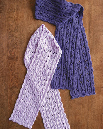 AC74 Fuchsia Lace Scarves by Eugen K. Beugler picture