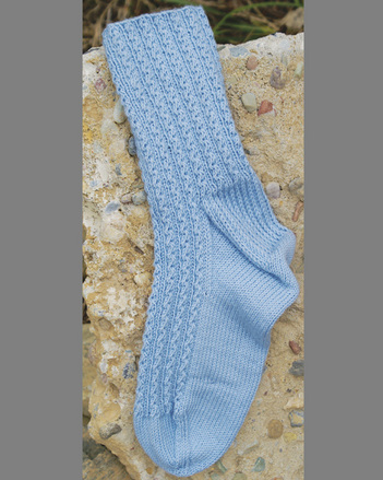 P004e - Baby Braids Socks - PDF picture