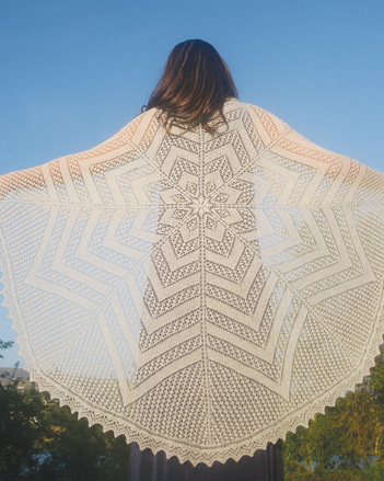S2021 The Circle of Life Shawl picture