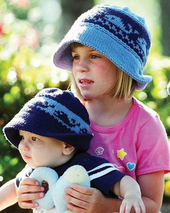 CH5   Whales & Sails Childrens Hats picture