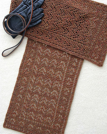 AC71 Paws To Remember Lace Scarf picture