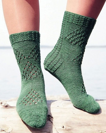 AC38 Fidalgo Feet - Northwest patterned socks picture