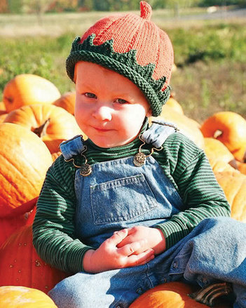 CH14 Patrick's Pumpkin Knit Hat picture
