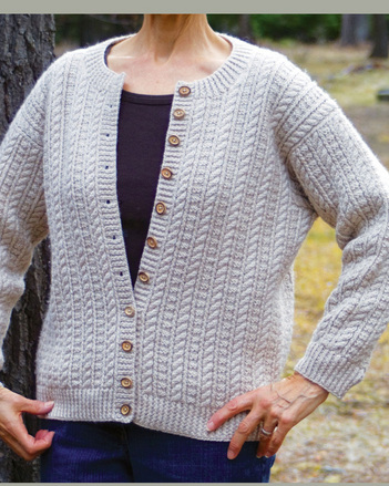 P048 - Sailor's Rib and Ropes Cardi picture