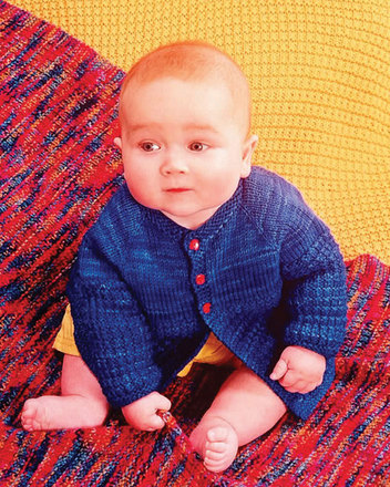 CH33e Baby Brights - Sweater & Blanket - PDF picture