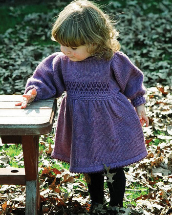 CH21 Warm Winter Dress - In worsted weight picture
