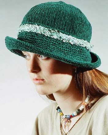 AC5e Chenille Hat - 2 sizes - PDF picture