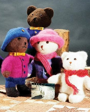 FT202 The Felt Marigold Bears picture