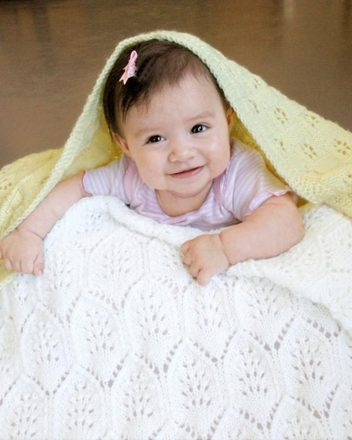 CH48e Light & Lacy Baby Blankets - PDF picture