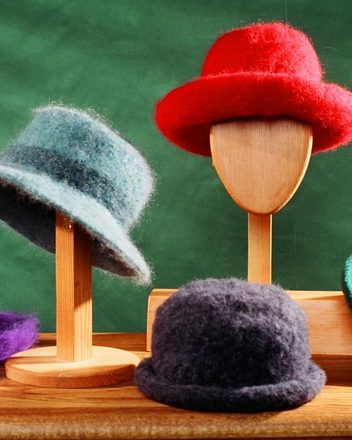 AC1e Felt Hat with brim variations _ PDF picture
