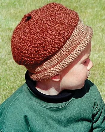 CH37e - Acorn Hat in 3 sizes - PDF picture