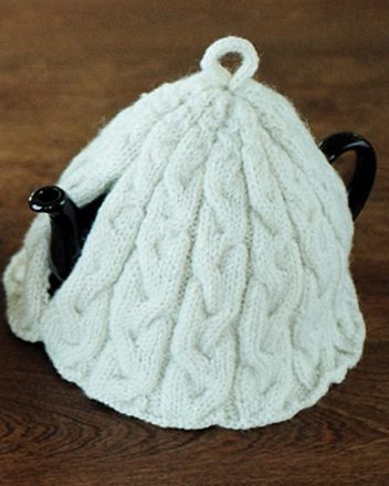 FT213e Braided Cable Tea Cosies - PDF picture