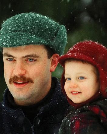 AC16 Felt Winter Caps - children's & men's sizes picture