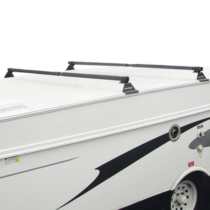 Camp Trailer Rack System Sportrack Ca French