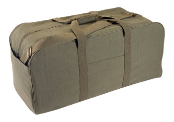 Rothco Canvas Jumbo Cargo Bag picture