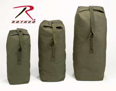 Rothco Heavyweight Top Load Canvas Duffle Bag  e6969e3afc28c