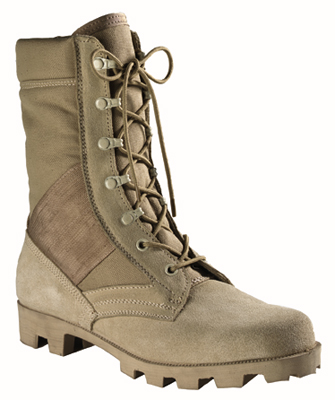Rothco G.I. Type Speedlace Desert Tan Jungle Boot picture