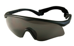 ROTHCO ANSI RATED INTERCHANGEABLE GOGGLE KIT - BLACK