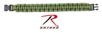 Rothco Solid Color Paracord Bracelet picture