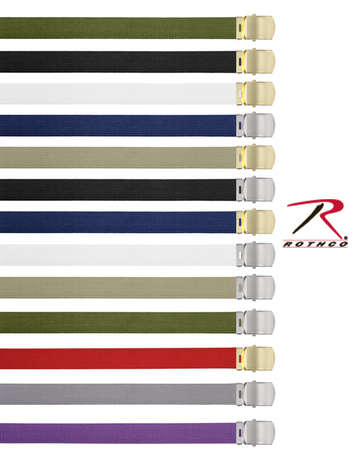MILITARY COLOR WEB BELTS picture