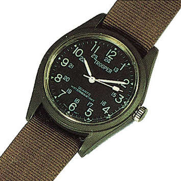 OLIVE DRAB FIELD WATCH picture