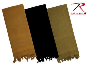 Rothco Solid Color Shemagh Tactical Desert Scarf picture