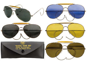 92540927ef7 Rothco Aviator Air Force Style Sunglasses picture