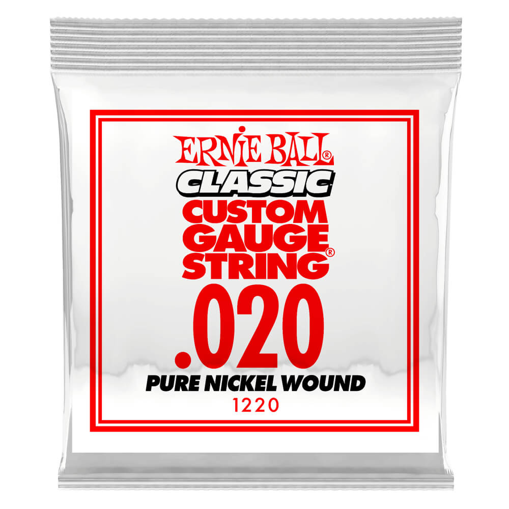 .020 Pure Nickel Wound Electric 6 pack picture