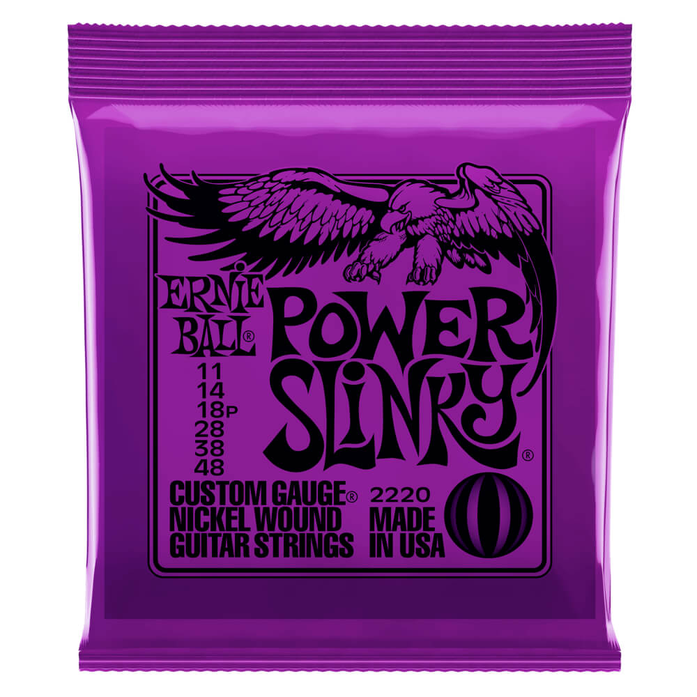 Power Slinky Nickel Wound .011 - .048 Purple pack picture