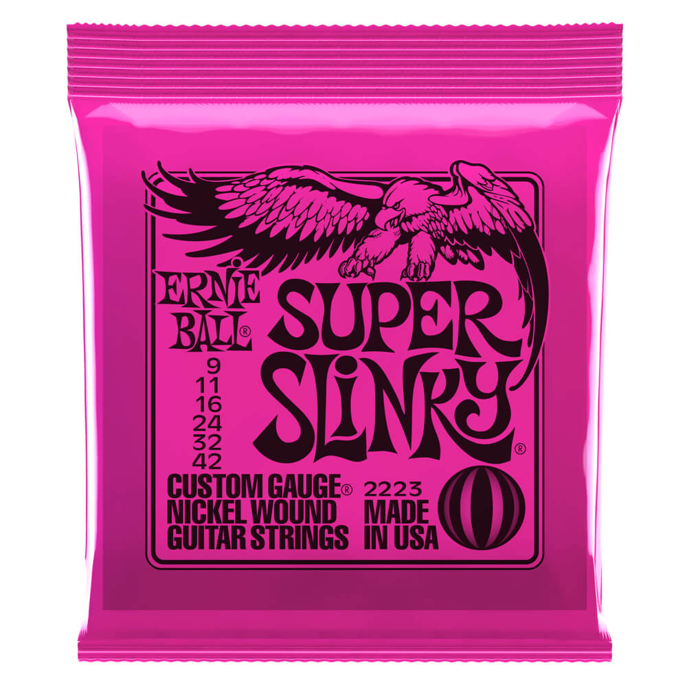 Super Slinky Nickel Wound .009 - .042 Pink pack picture