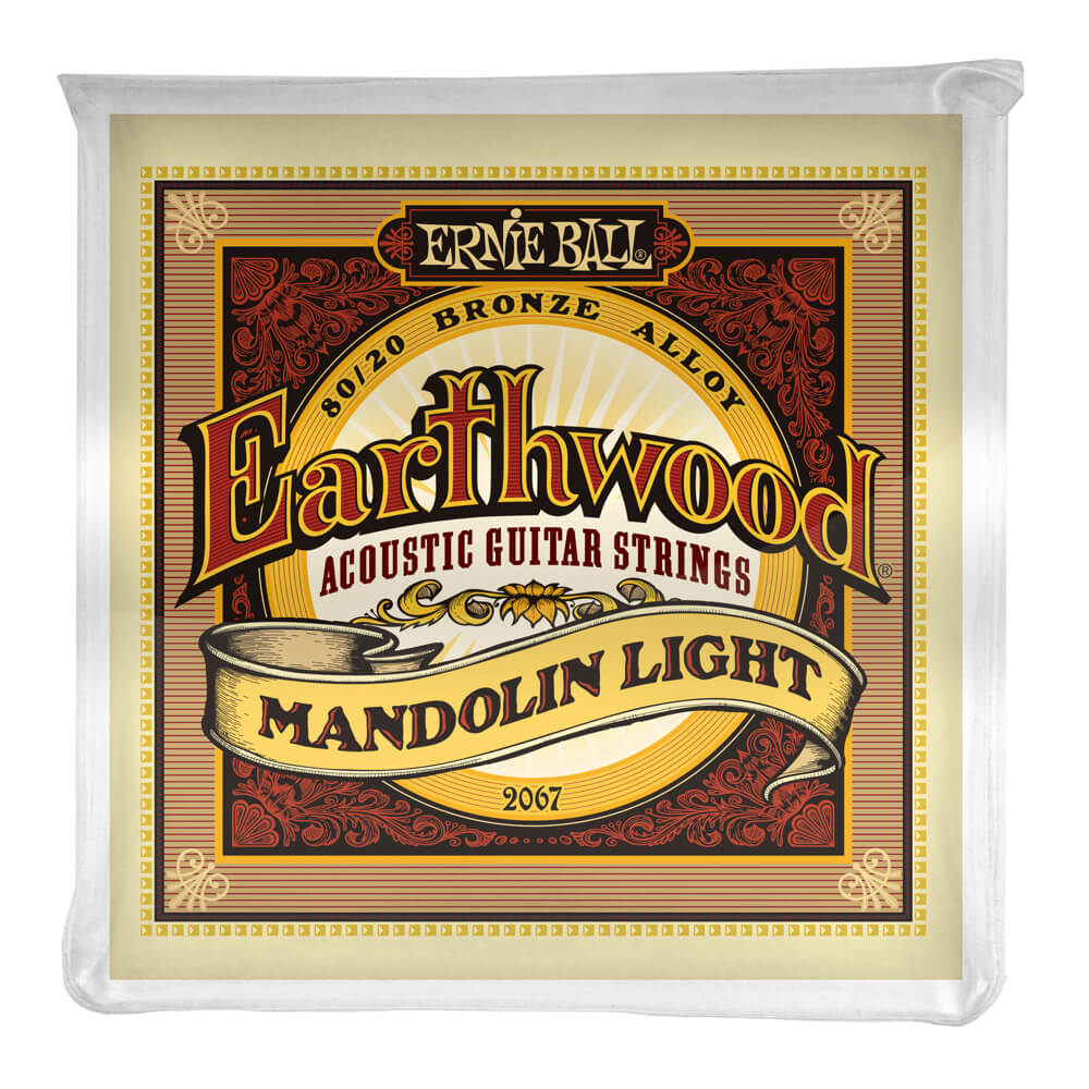 Earthwood Mandolin Light 80/20 Bronze Loop End picture