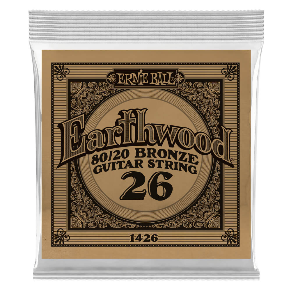 .026 Earthwood Acoustic 80/20 Bronze 6 pack picture