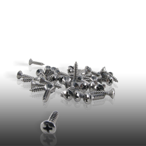 Pickguard Screws Nickel Bag of 40 picture
