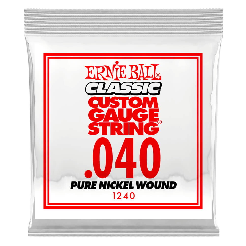 .040 Pure Nickel Wound Electric 6 pack picture