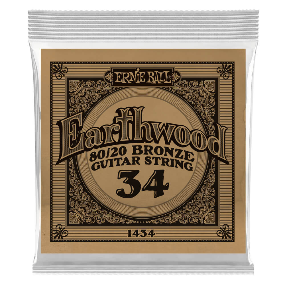 .034 Earthwood Acoustic 80/20 Bronze 6 pack picture