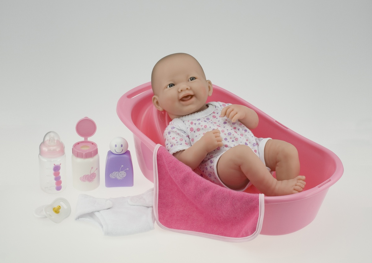 la newborn delixe bath set 14 vinyl doll bathtub and accessories images frompo. Black Bedroom Furniture Sets. Home Design Ideas