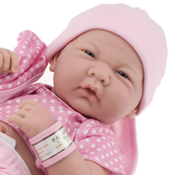 Really wanted this 14 la newborn real girl in her newborn pink layette