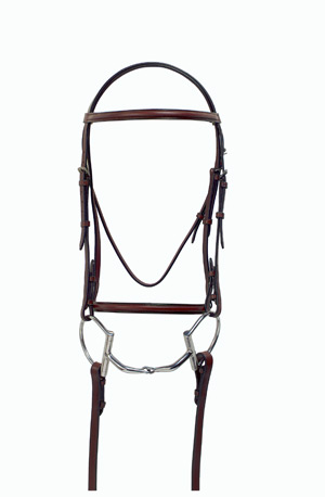 Millstone Square Raised Bridle w/laced reins picture