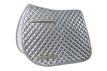 LÉTTIA All Over Sparkly Dressage Pad in Silver picture